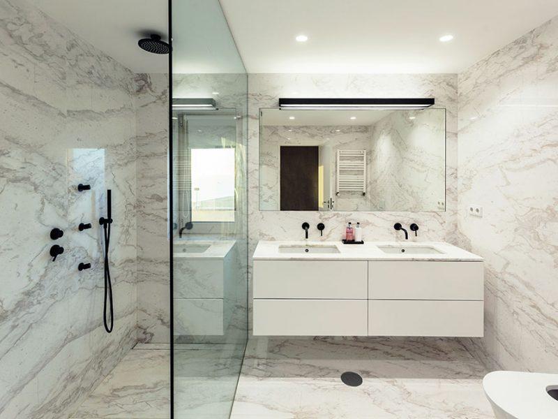 Modern Bath Remodel Coto De Caza
