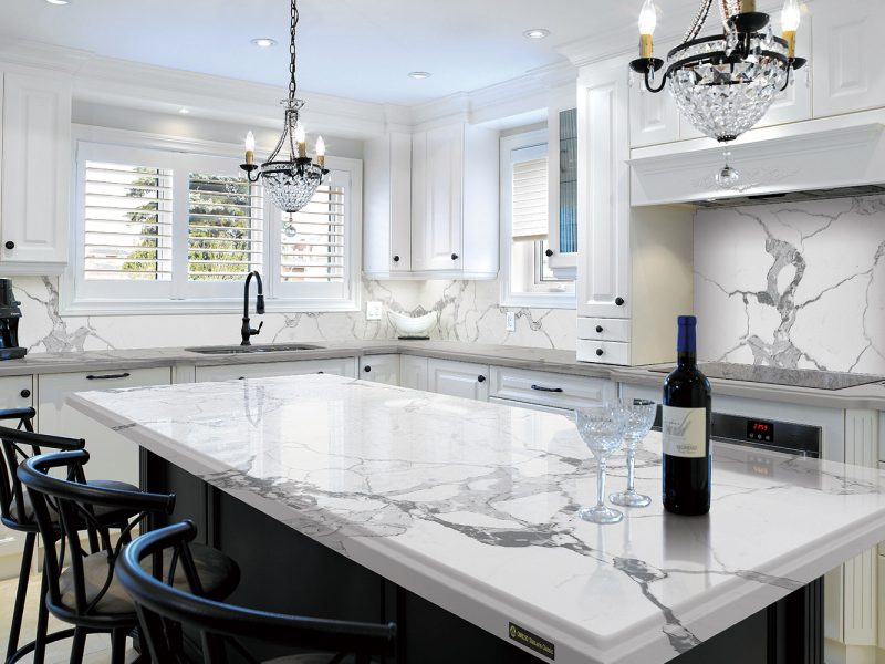 Quartz countertop in Laguna Niguel