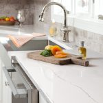 Quartz countertop in Irvine