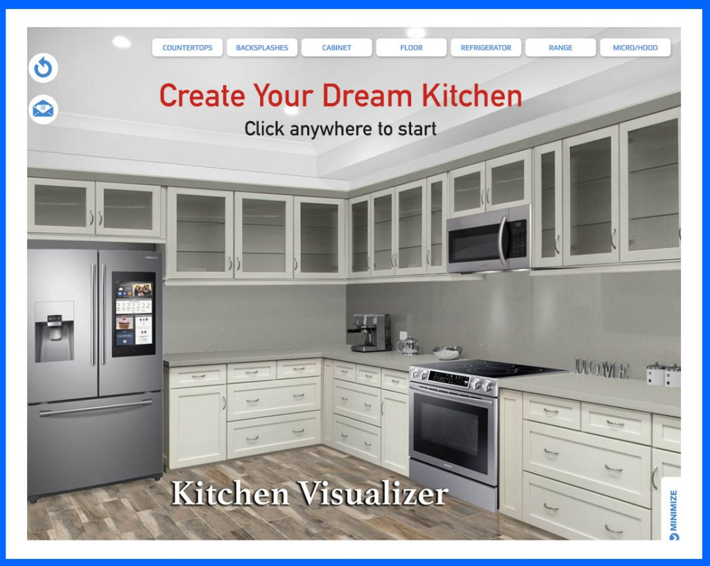 Free kitchen visualizer designer