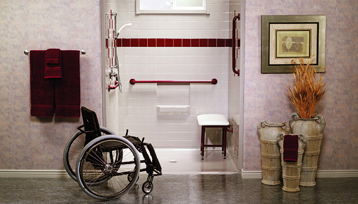 Bathroom with disablity access in Laguna Niguel
