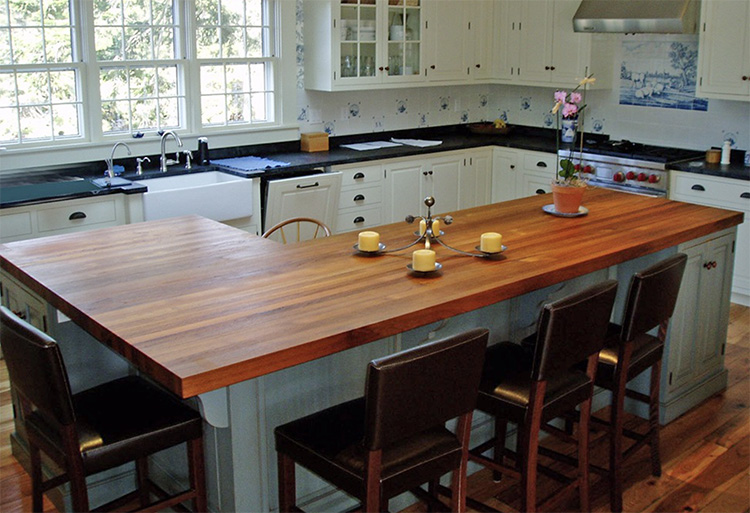 Wood countertops in Laguna Hills