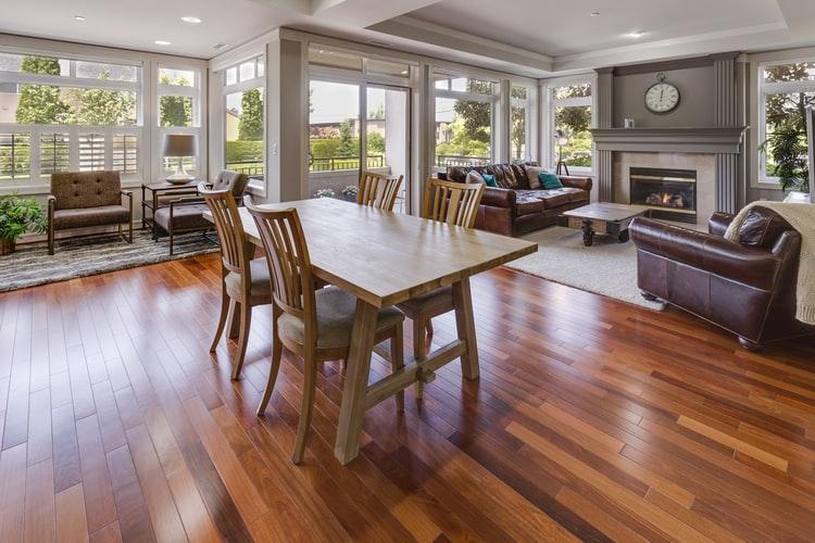 Wood flooring in Laguna Hills